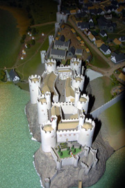 Model of Conwy Castle