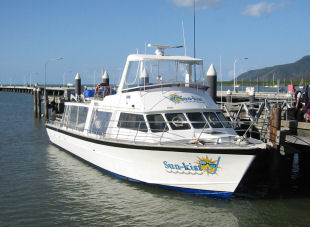 Sun-Kist, scuba diving boat