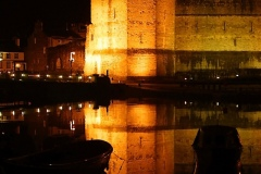 Night_Caernarfon_Castle2